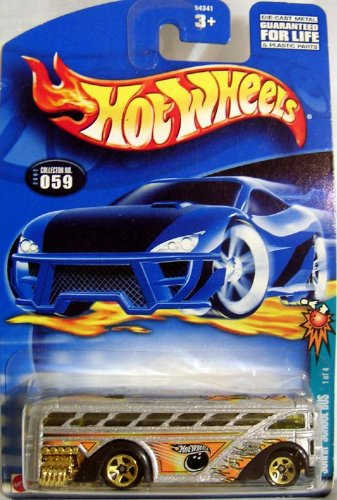 HOT WHEELS #059 SURFIN SCHOOL BUS - 1