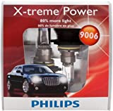 Philips 9006 X-treme Power Headlight Bulbs, Pack of 2
