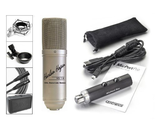 Vo: 1-A Microphone And Micport Pro Usb Preamp Combo - Save Compared To Combined List Prices