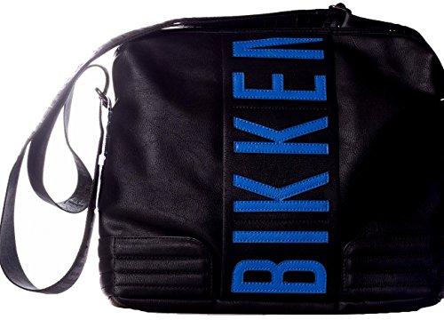 Borsa Borsello Tracolla Bikkembergs Messenger Bag Uomo Donna Men Women Tourister Ink D2704 Black