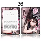 TaylorHe Vinyl Skin Decal for Amazon Kindle Paperwhite Ultra-slim protection for Kindle MADE IN BRITAIN FREE UK DELIVERY Design of Beautiful Girl