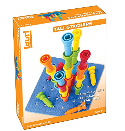 <b>Lauri Tall-Stacker Pegs & Pegboard Set</b>