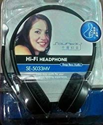 SE-5033MV Hi-Fi Headphone Deep Bass Audio With Mic