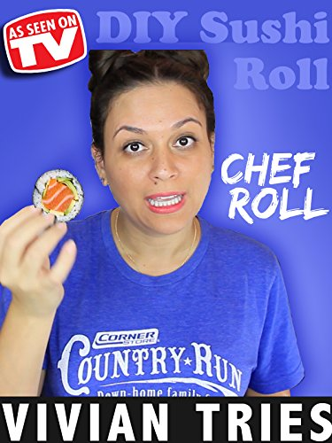 Review: Vivian Tries: Chef Roll As Seen on TV DIY Sushi Roll