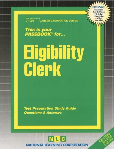 Eligibility Clerk (Passbooks) PDF