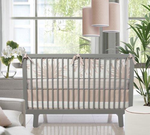 Oilo Studio Freesia 3 Piece Crib Set In Blush front-1001426