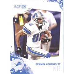 Dennis Northcutt - Detroit Lions - 2010 Score Football Card - NFL Trading Card in...