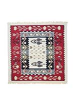Floor Decor Alfombra Doubleface Murad (Rojo/Marfil/Multicolor)