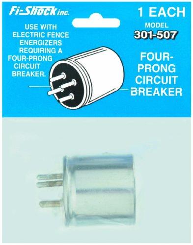 Fi-Shock 301-507 Four-Prong Circuit Breaker