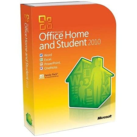 Microsoft Office Home and Student 2010 3 Users, Model 79G-02144-Retail -by-Microsoft