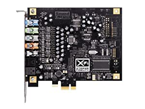 Creative Labs SB0880 PCI Express Sound Blaster X-Fi Titanium Sound Card