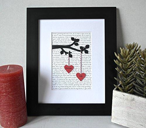 Unique Wedding Day Ideas: Personalized Unique Christmas Gift! 3D Unique Wedding Gift