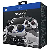 NACON Revolution PRO Controller Gamepad Camo Grey Edition PS4 Playstation 4 eSports Designed (Color: Grey)