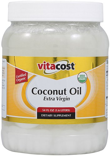 Vitacost Extra Virgin Certified Organic Coconut Oil -- 54 fl oz