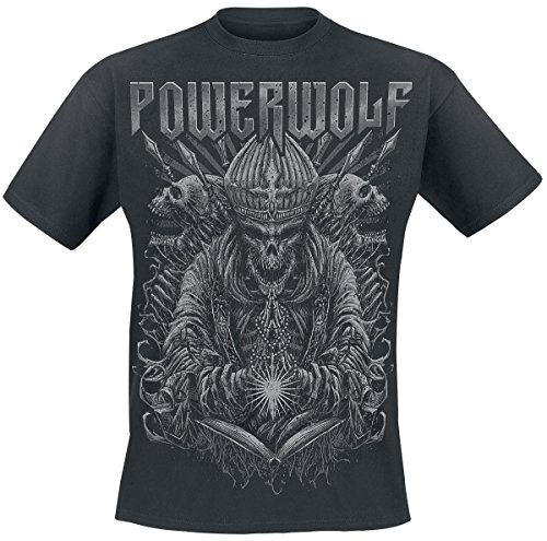 Powerwolf Priest T-Shirt nero M