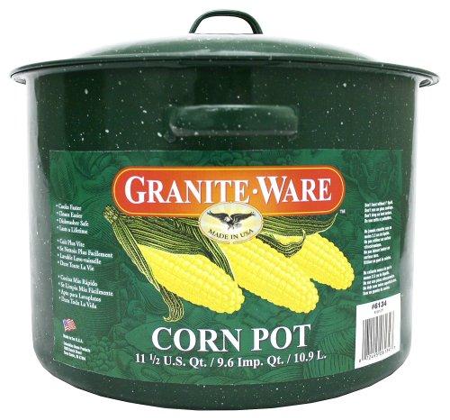 Granite Ware 6134-2 Corn Pot,  13-inch by 11.5-inch