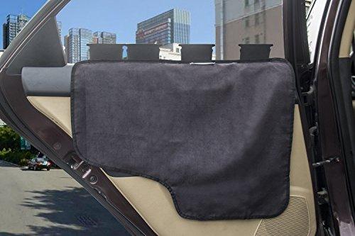 Pet Car Door ... & Pet Car Door Cover Car Back Seat Door Protector for Dog E-JOY [2 ... pezcame.com