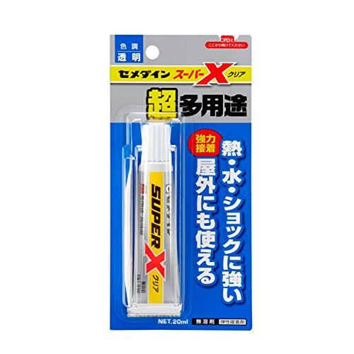 セメダイン 多用途接着剤 スーパーX クリア P20ml AX-038