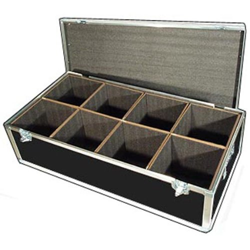 "Lighting Led Par Lights Ata Case W/8 Compartments - Interior Dimensions Per Cube Compartment 10"" X 10"" X 12"" High"