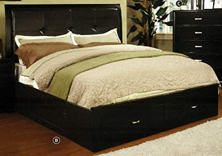 WelcomeiHome .INC Enrico III Contemporary Style Brown Cherry Finish Full Size Bed Frame at Sears.com