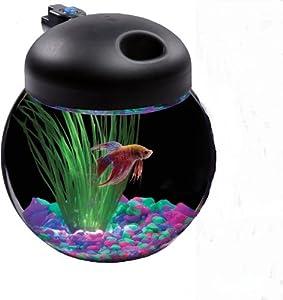 Kollercraft aquarius globe bowl aquarium kit for 10 gallon fish bowl