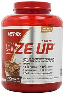MET-Rx Xtreme Size Up Diet Supplement, Chocolate, 6 Pound