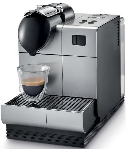 O Deals Delonghi Silver Lattissima Plus Nespresso