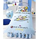 Childrens Bang on The Door Little Rocker Duvet Cover Set Bedding with Pillow Case and Valance Sheet