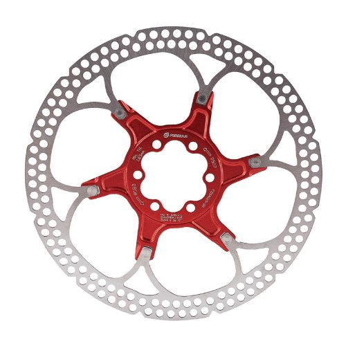 Image of Formula Disc Rotor Alloy 180mm 6 bolt Red (B007FTJ2NK)