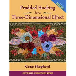 Prodded Hooking for a Three-Dimensional Effect