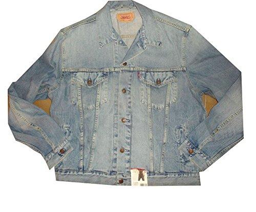 Giubbotto In Jeans Levi's Da Uomo Standar Regolare Largo red tab guy Taglia XXL articolo 70550.04.10