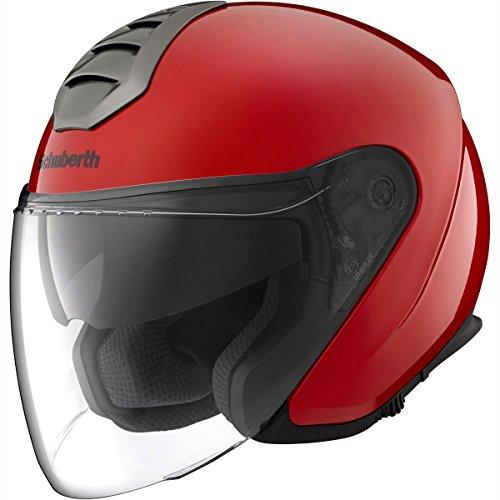 Motorcycle Schuberth M1 Helmet Rome Red S UK