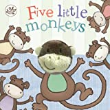 Little Learners Finger Puppets : Five Little Monkeys