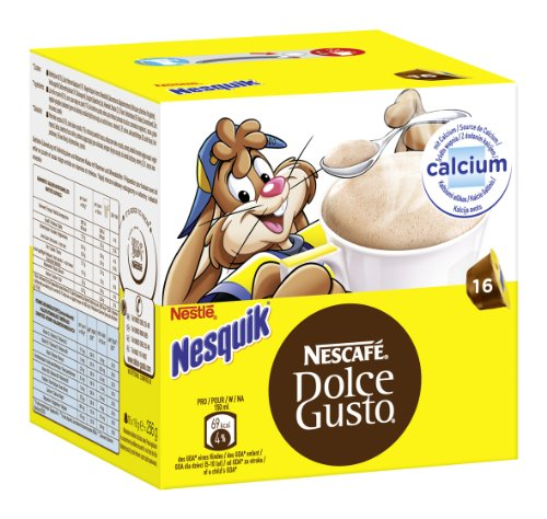 Nescafé Dolce Gusto Nesquik, Pack of 3, 3 x 16 Capsules by Nestle