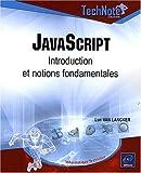 echange, troc Luc Van Lancker - JavaScript - Introduction et notions fondamentales
