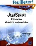 JavaScript - Introduction et notions...