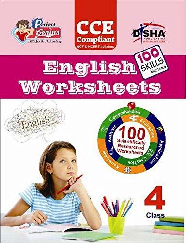 Perfect Genius English Worksheets for Class -  4: Based on Bloom's Taxonomy