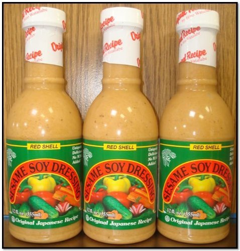 Red Shell Sesame Soy Dressing (Pk of 3) (Pasta Salad Dressing compare prices)