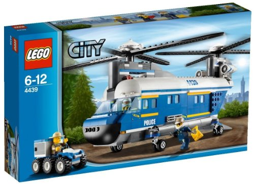 LEGO City 4439 - Hubschrauber mit Doppelrotor