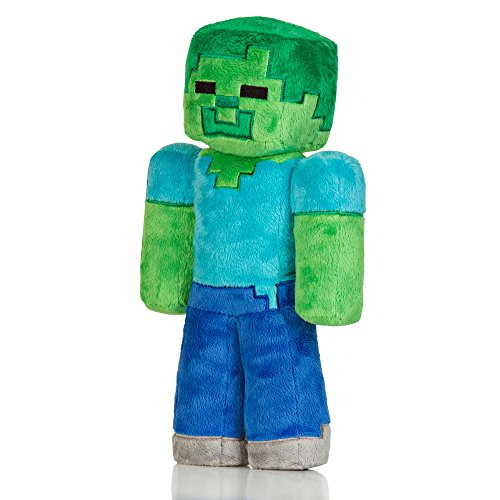 "Minecraft 12"" Medium Zombie Plush - 1"