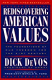 img - for Rediscovering American Values: The Foundations of our Freedom for the 21st Century book / textbook / text book