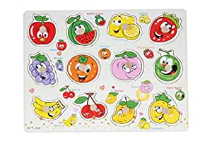 Baybee Wooden fun with fruits Puzzle