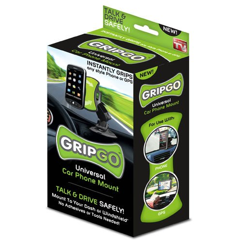 Gripgo Gps/Car Phone Holder - As Seen On Tv