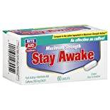 Rite Aid Pharmacy Stay Awake, Maximum Strength, Coated Caplets, 60 caplets