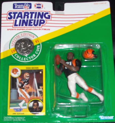 Buy Eddie Brown 1991 Starting Lineup
