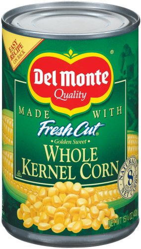 Del Monte Whole Kernel Corn 15.25 oz (024000163022)