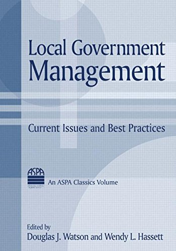 Local Government Management: Current Issues and Best...