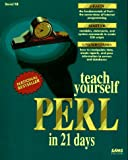 Teach Yourself Perl in 21 Days (0672305860) by David Till