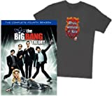 "The Big Bang Theory: The Complete Fourth Season (With Exclusive ""Mystic Warlords of Kaa"" Large T-Shirt On-Pack)"