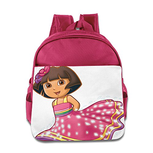 [Princess Dora Toddler School Backpack Pink] (Dora Diego And Boots)